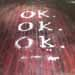 Ok. Ok. Ok., salt, words, 2011