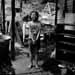"""Gordon Smith, Christine Brown, Crank's Creek, c. late 1990s. Silver print. 16"""" x 20"""". Photo courtesy of Gordon Smith."""