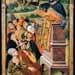 """Saint Preaching""  Jorge Ingles 1475-1500"