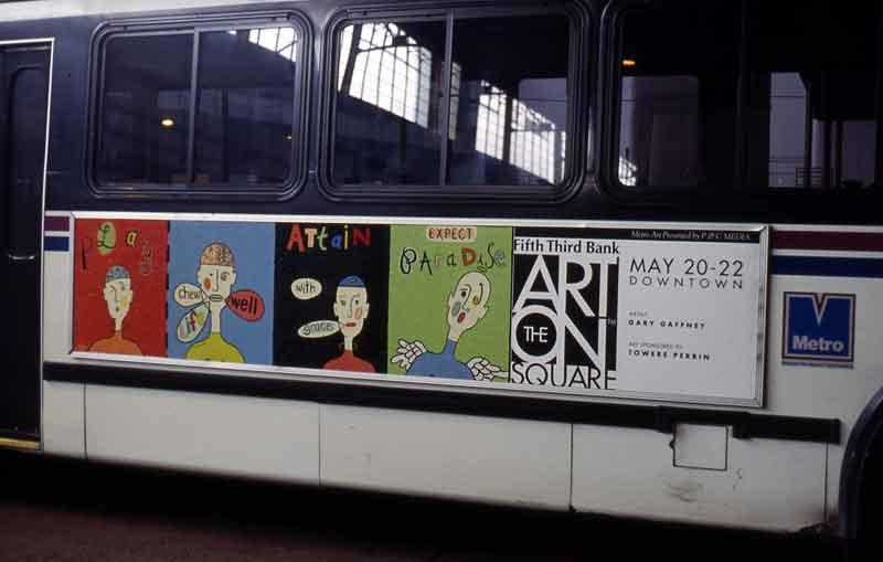 Metro Bus Ad