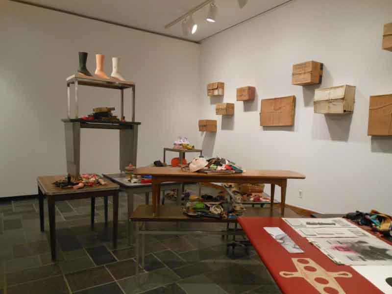 Bob Boxes exhibition