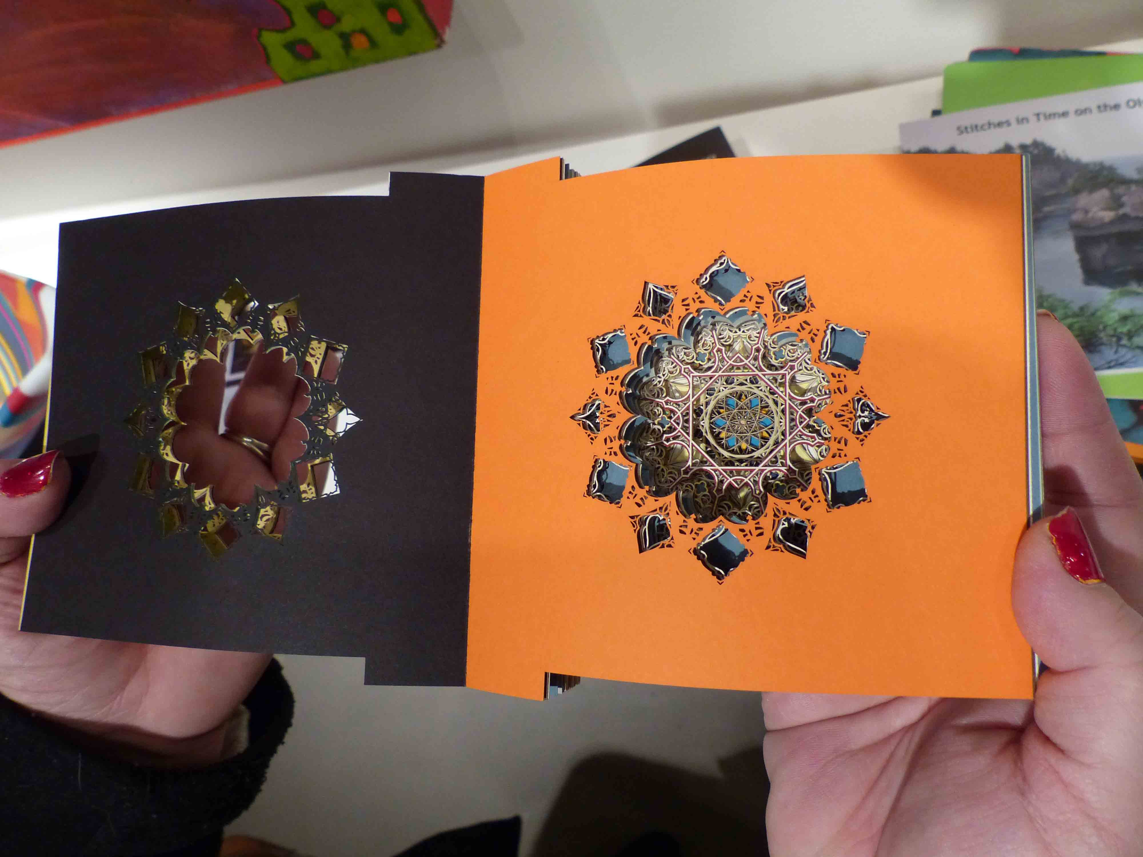 Layer By Layer Eric Standleys CUT At Marta Hewett Gallery AEQAI - Beautiful laser cut paper art eric standley