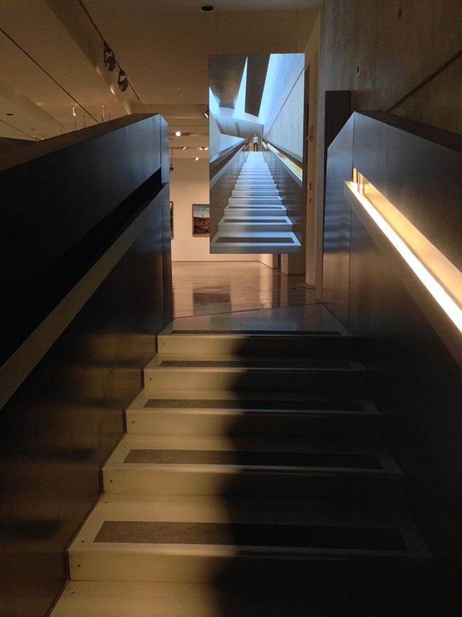 Performance 30(Stairs), Sebastian Stumpf, 2014