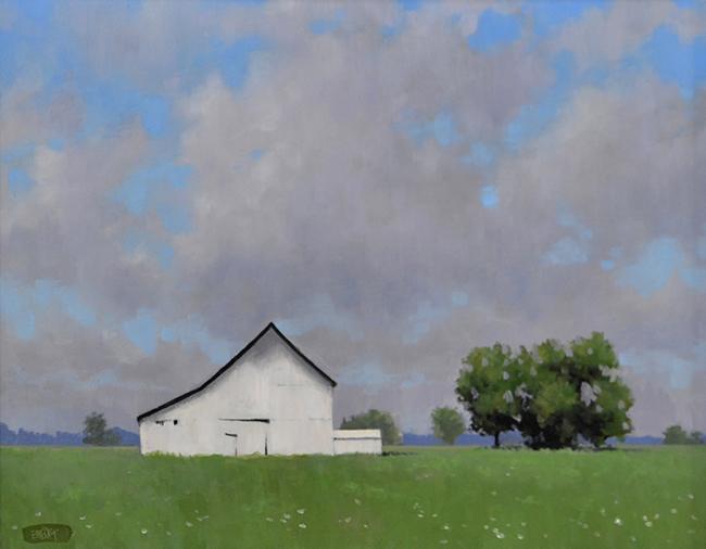 Brian Burt, The White Barn