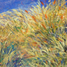 rick_bennett_Dance of the Grasses II, 24X24 inches, 2014