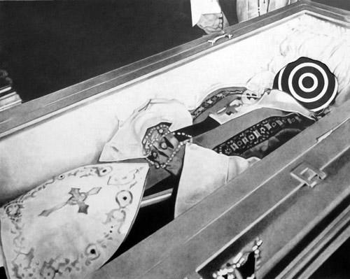 Archbishop Romero, graphite on paper