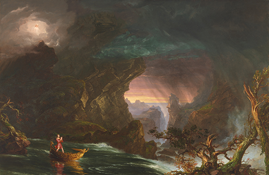 "Turning the Leaf: America's Eden: Thomas Cole and ""The Voyage of Life"""
