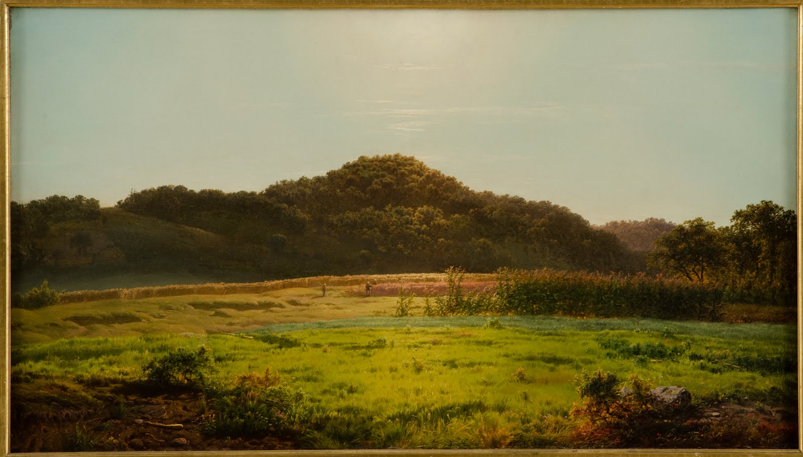 Louis Remy Mignot, View Across the Valley at Pierstown, c. 1858