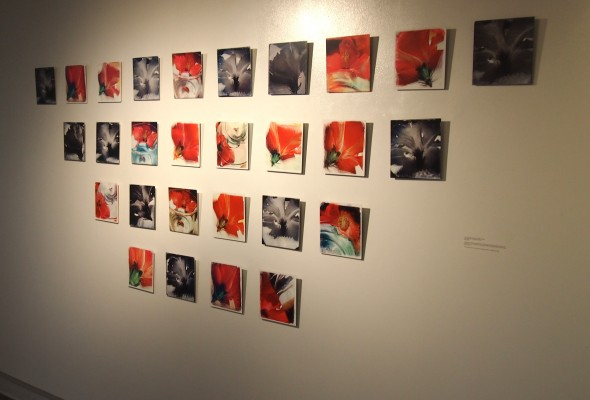 """BINDU – THE FIRST CIRLE: RADHA LAKSHMI,"" gallery One One, Brazee Street Studios, through Oct. 9, 2014"