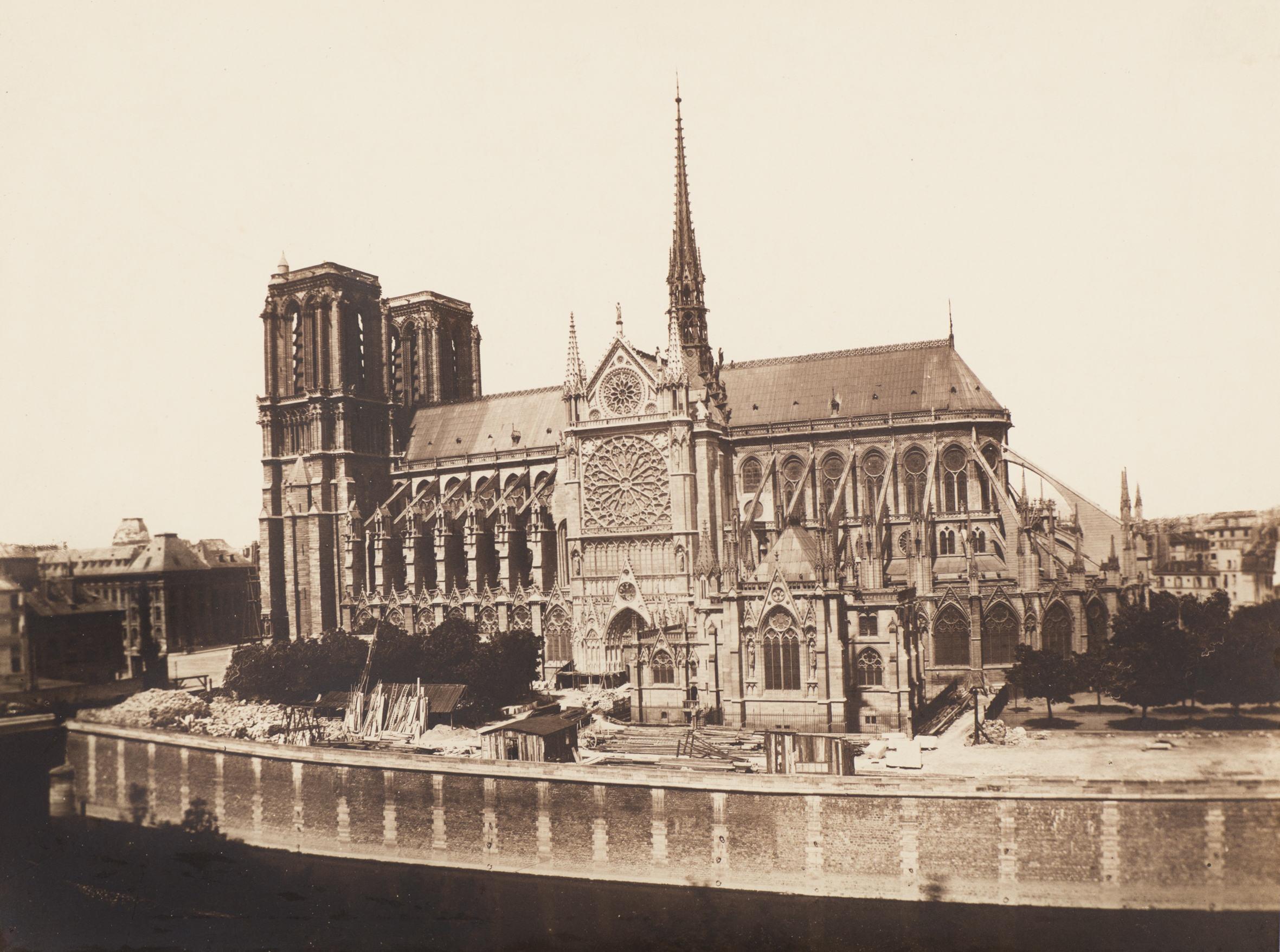 3) Baldus Notre Dame from Seine