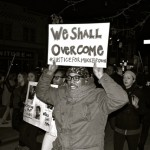 DOWNTOWN LEXINGTON FERGUSON PROTEST, NOVEMBER 25, 2014, The Archive Louis Zoellar Bickett