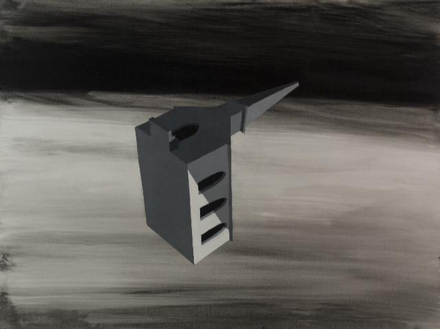 Kortlander, John - Stratosphere,__ 2013, acrylic on canvas, 36 x 48 inches