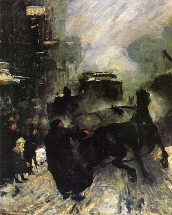 GeorgeBellows-SteamingStreets-1908