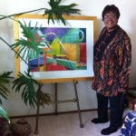 Velma J. Morris Artist Still Working at 77