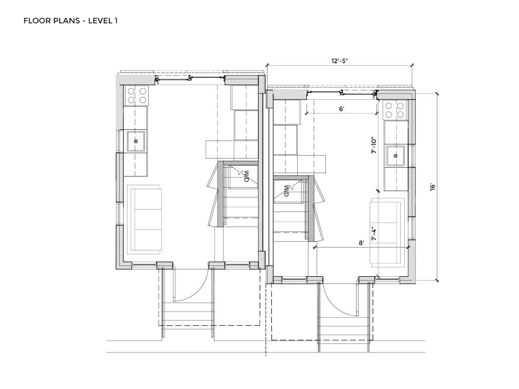 Brad Cooper, Peete Street house plans