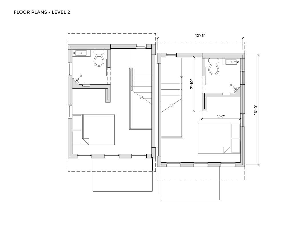 Cooper, floor plans for tiny houses
