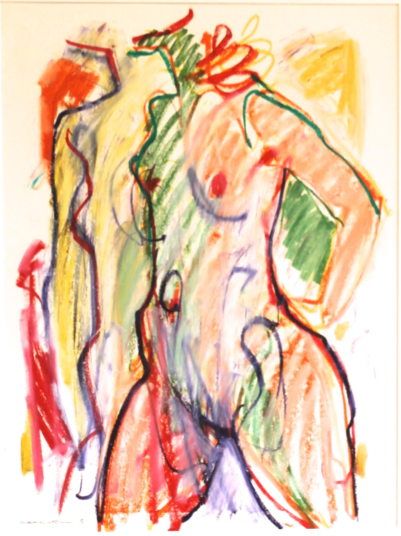 Figure Study  by Jack Meanwell