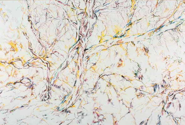 """The Nothing that is There:  """"Stewart Goldman: Nuances"""" at the Philip M. Meyers, Jr., Memorial Gallery, DAAP, September 13-October 25, 2015"""