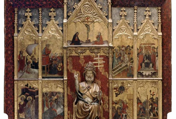 Altered Piece Conservation on View: Zaragoza's Retablo of St. Peter January 26 – April 24, 2016 The Cincinnati Art Museum, Gallery 124