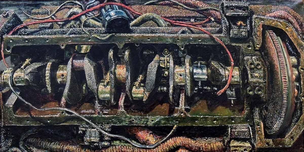 Emerson-Burkhart-_-ENGINE-_-1947-_-oil-on-canvas