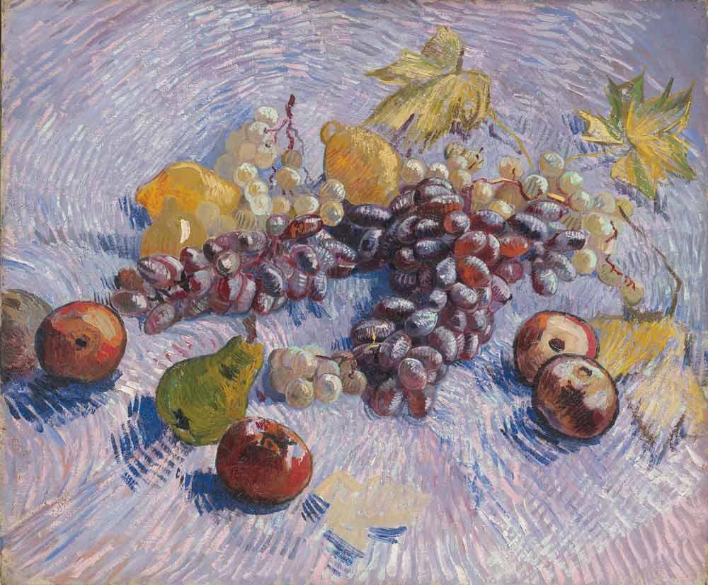 4-Van-Gogh-Grapes-Lemons-Pears-and-Apples-1887
