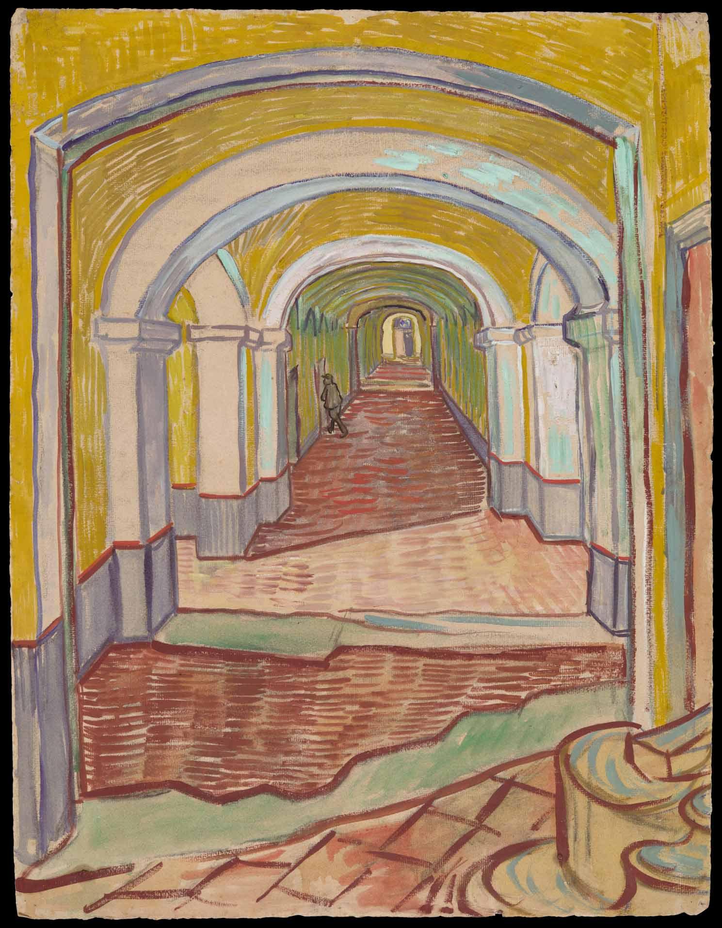 5-Van-Gogh-Corridor-in-the-Asylum-1889