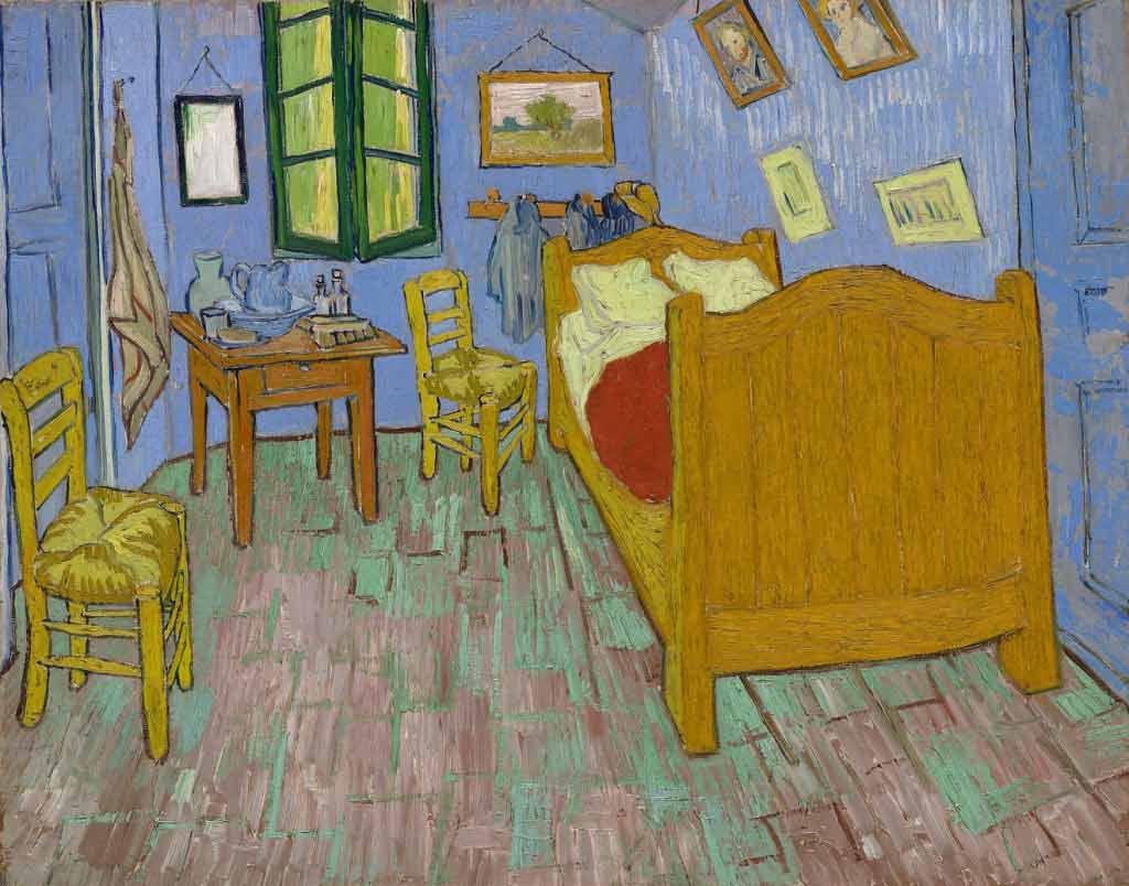 7-VanGogh-The-Bedroom-Version-2-1889