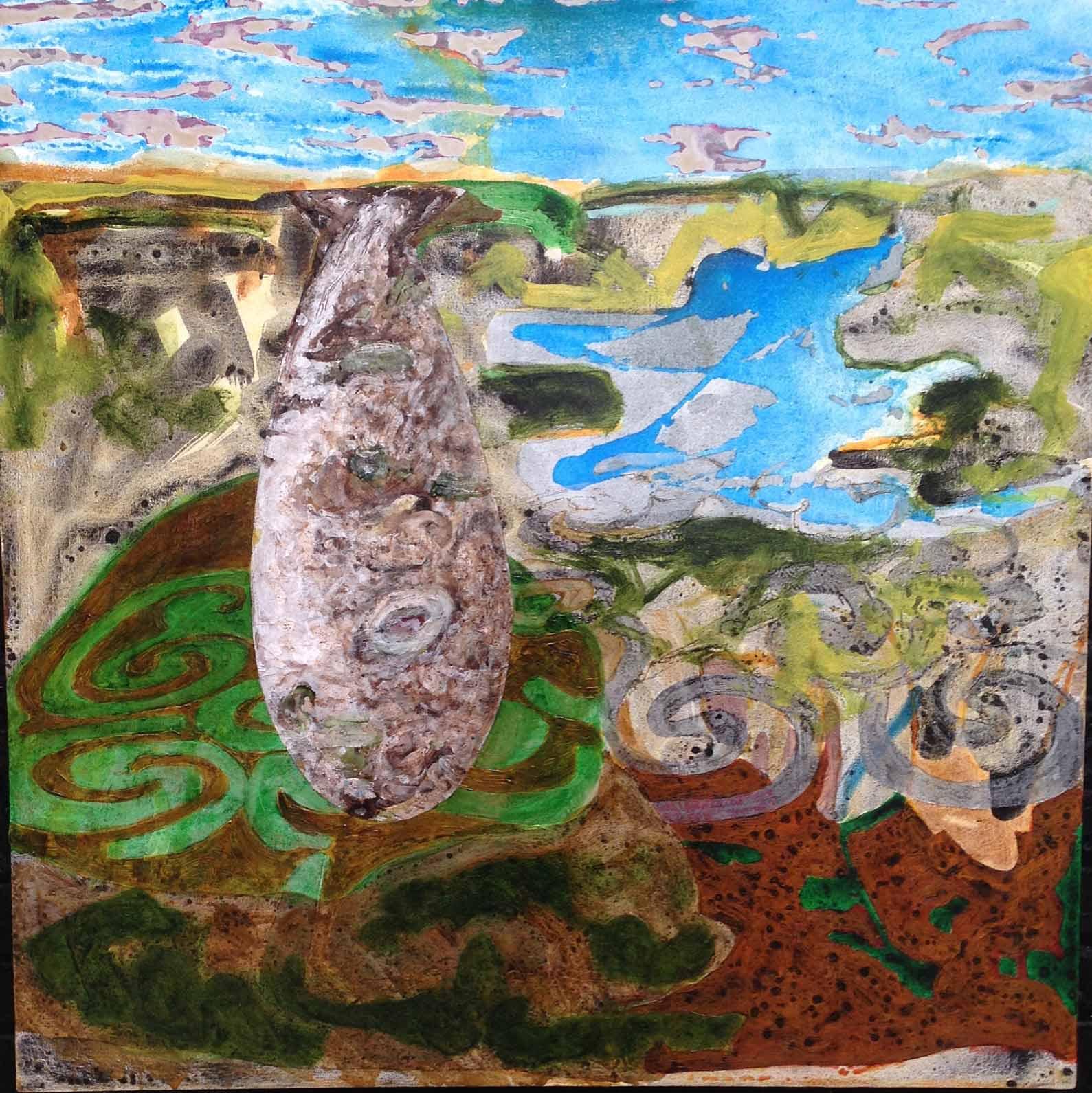 Buoyant-4,-acrylic-on-canvas,-40_-X-40_,-2016