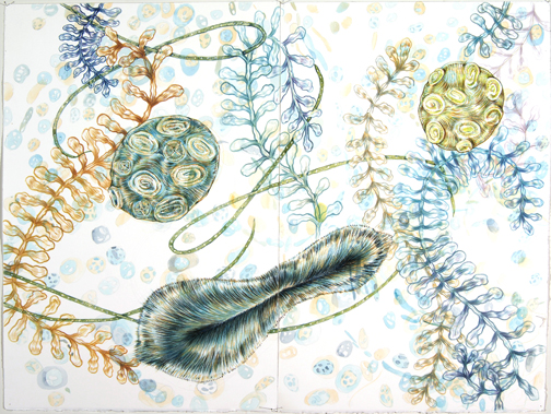 """""""Drawing on Second Sight,"""" Lindner Gallery, Kennedy Heights Art Center through July 30, 2016"""