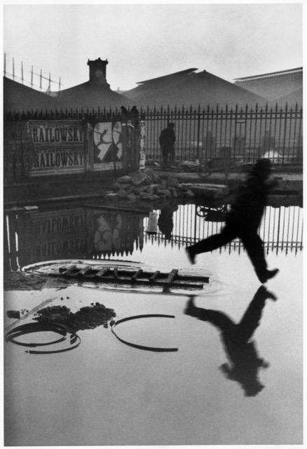 1 Henri Cartier-Bresson, _Behind the Gare Saint-Lazare_ (1932)