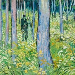 "The Dappled Life:  ""Van Gogh: Into the Undergrowth""  at the Cincinnati Art Museum,  October 15, 2016-January 8, 2017"