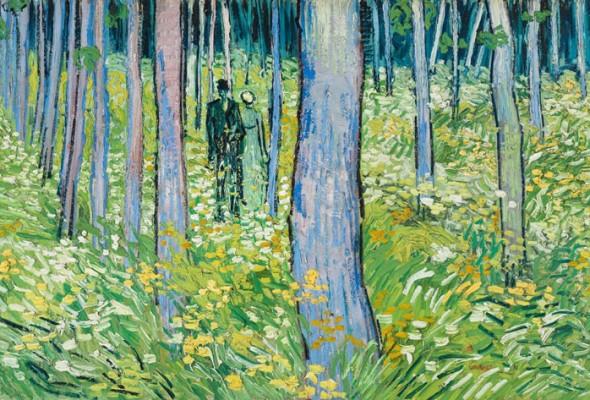 "The Dappled Life:  ""Van Gogh: Into the Undergrowth""  at the Cincinnati Art Museum,  October 15, 2016-January 8, 2017"