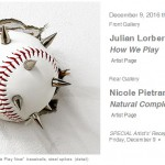 How We Play, or Don't Play: Julian Lorber and Nicole Pietrantoni at Nicole Longnecker Gallery