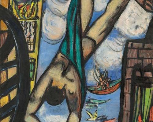 """Max Beckmann in New York,"" Metropolitan Museum of Art, through February 20, 2017"