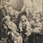 "Faith and Family: ""Rembrandt and the Jews: The Berger Print Collection""  at the Skirball Museum, Hebrew Union College, March 5-April 30, 2017"
