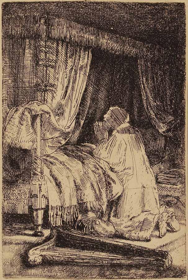 5-Rembrandt-DavidInPrayer-1652