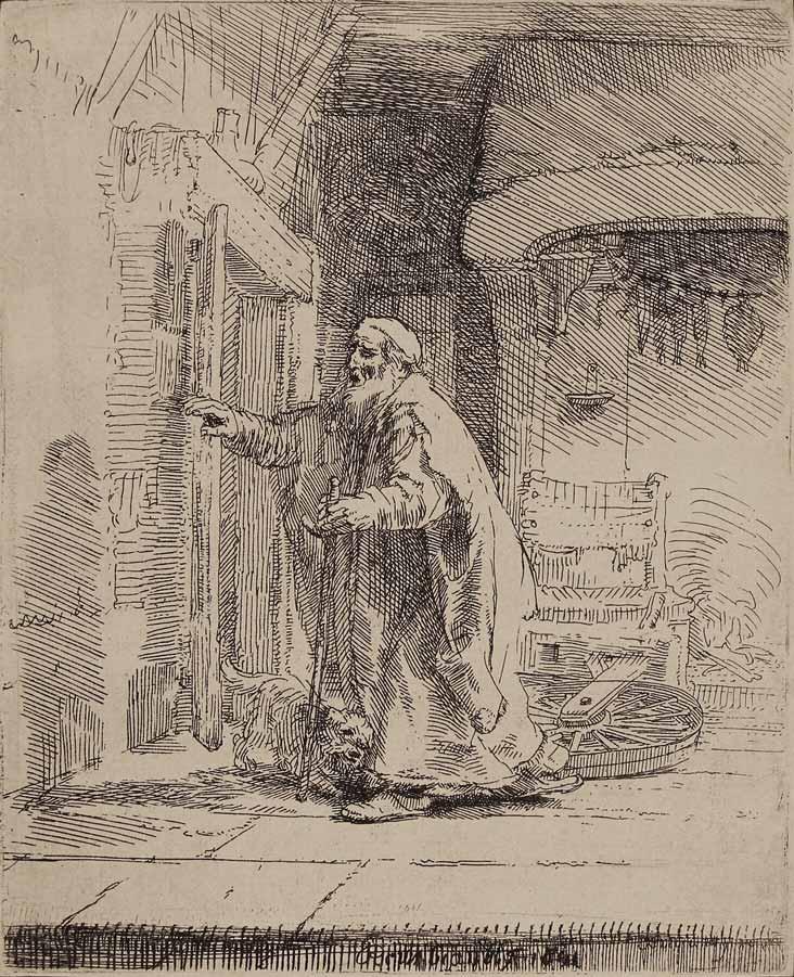 6-Rembrandt-TheBlindnessOfTobit-1651