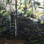 Fern Canyon: Paintings by Claire Sherman at the KMAC