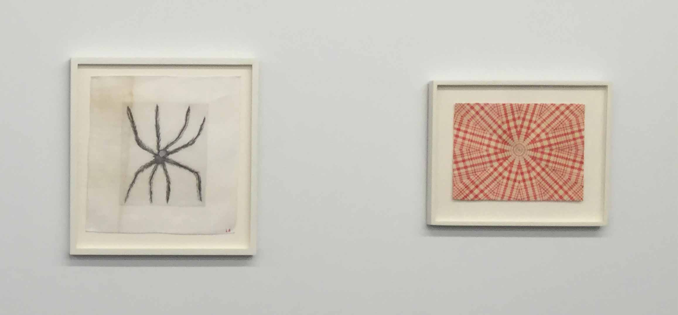 Louise-Bourgeois,-Hairy-Spider-(2001)-and-Untitled-(2005).-Image-courtesy-of-author