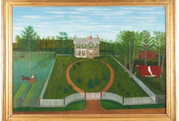 "When Landscape was Real Estate: ""A Shared Legacy: Folk Art in America,"" Cincinnati Art Museum June 10-September 3, 2017"