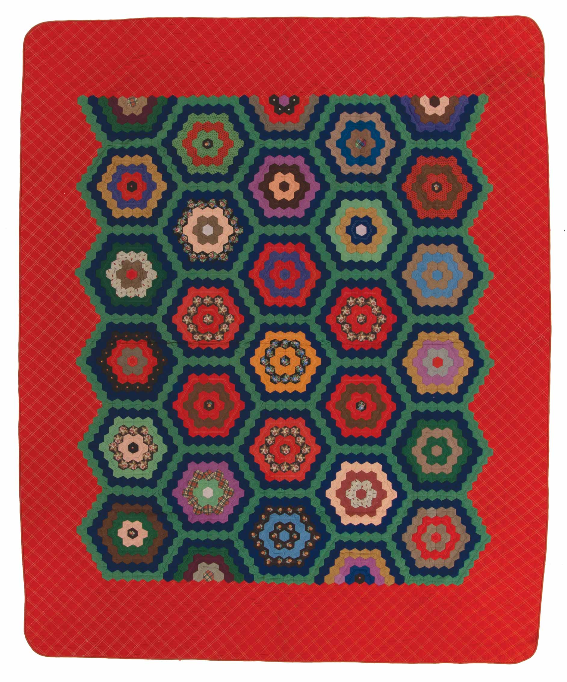 3a)QUILTS-Hexagon-Quilt---KY