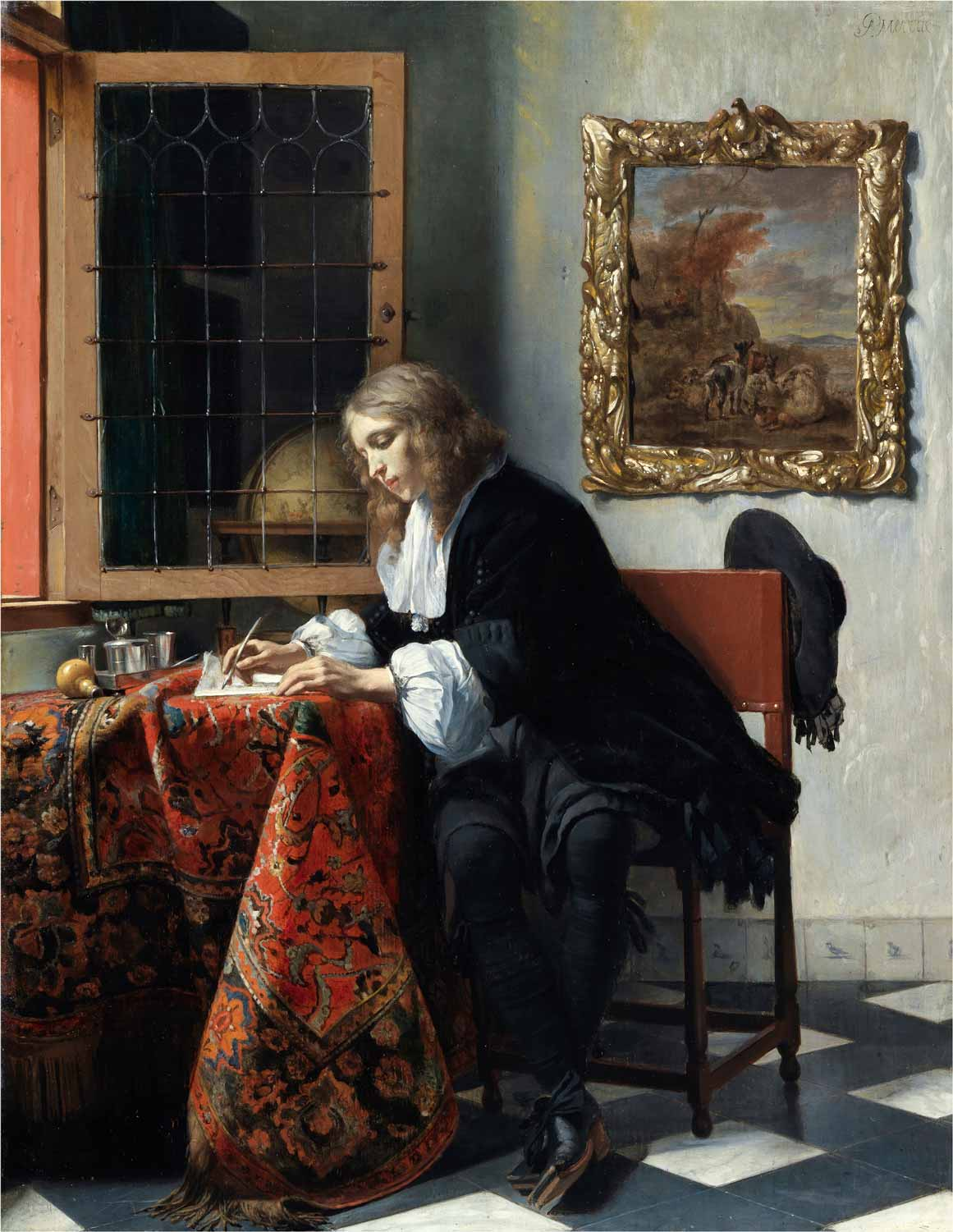 7a)VERMEER-Metsu-Man-Writing-Letter-3799-031