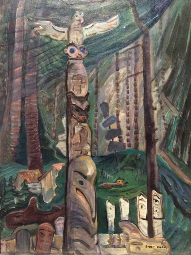 5Alert-Bay-Burial-Grounds-c1930s--oil-on-canvas