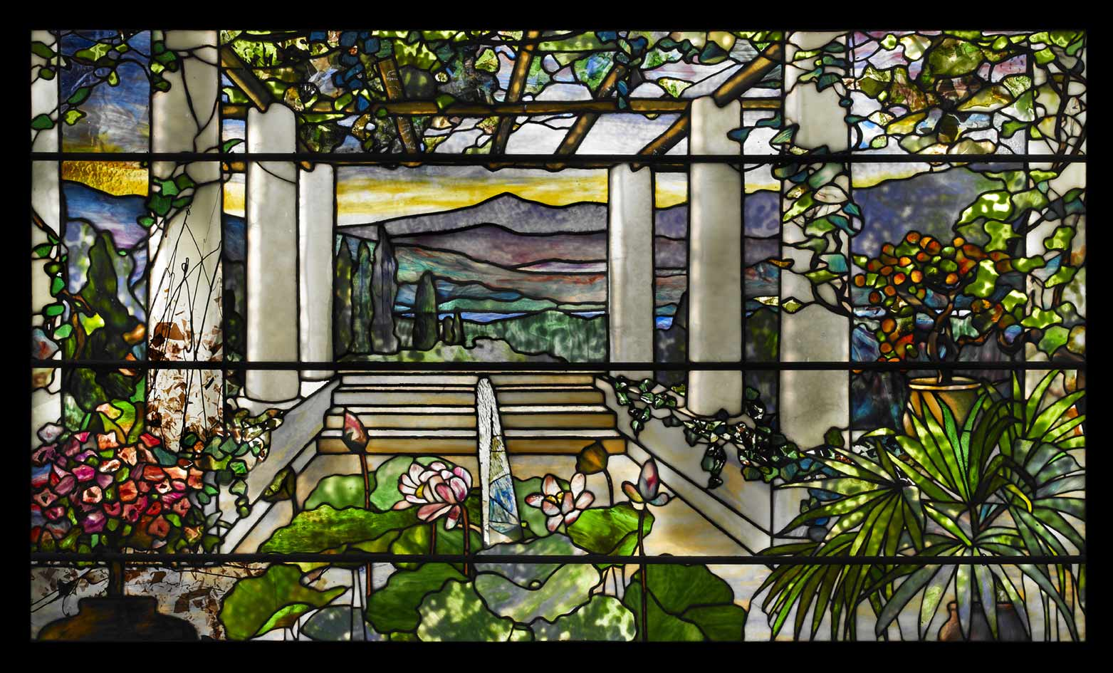 1)-TIFFANY-Window-Garden-Landscape-