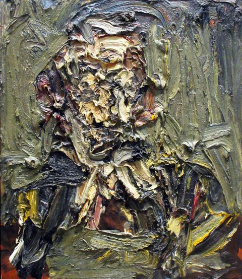 17. Nadia Safieddine_ The Envious, oil on canvas, 70x78cm, 2017