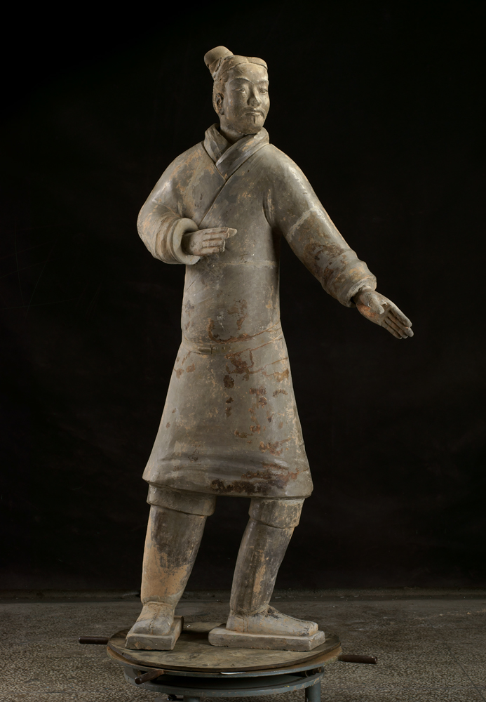 10)Terracotta Standing Archer