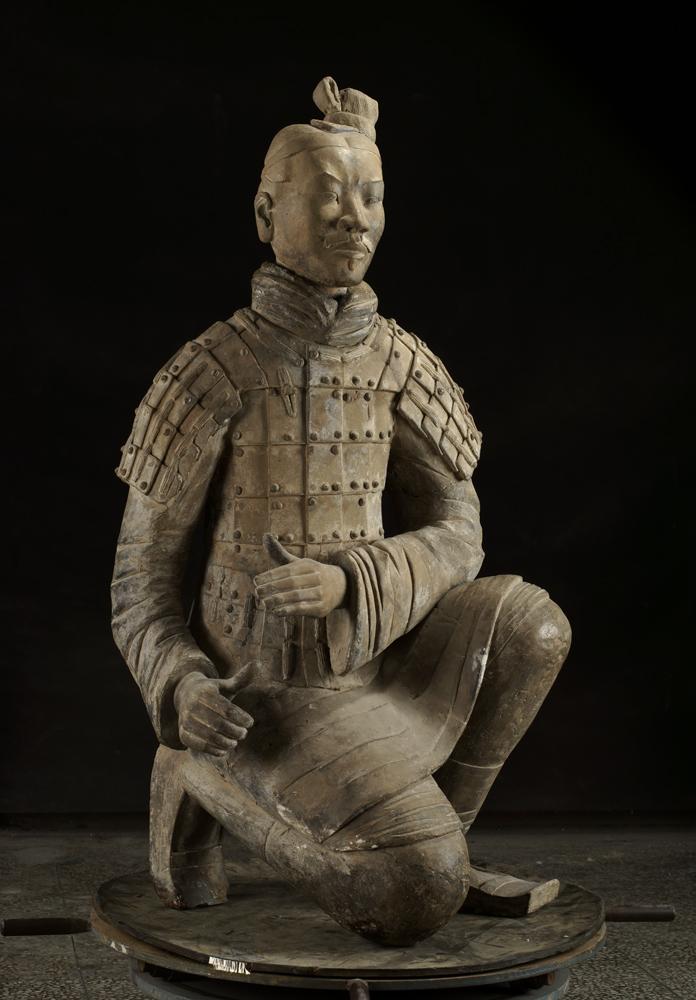 11)Terracotta Kneeling Archer