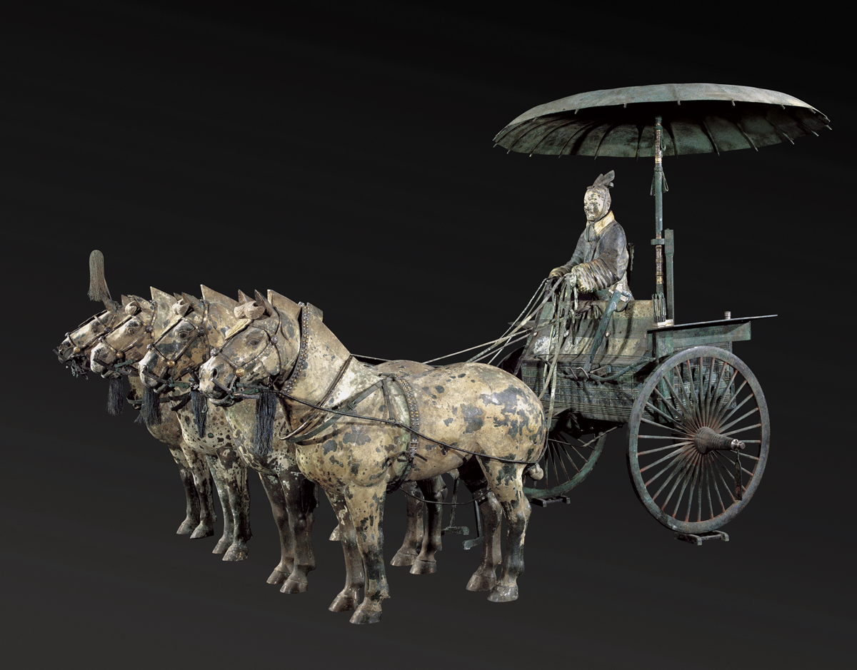 1)Terracotta Chariot a