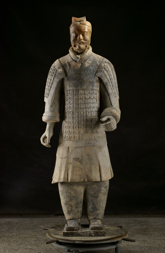5)Terracotta Middle-Ranking Officer