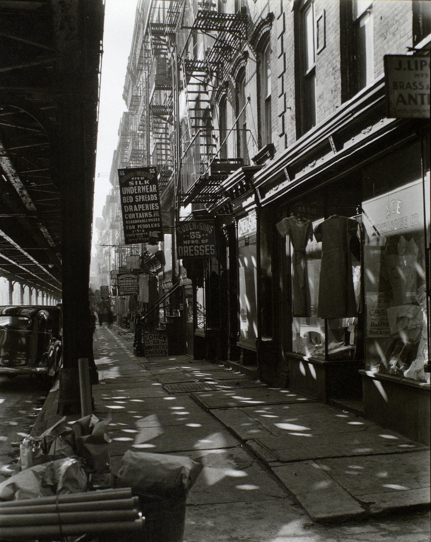 9)ABBOTT-Allen Street 55-57 1937 -NYPL